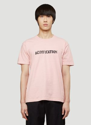 Eden Power Corp Recycled Acidification T-Shirt in Red