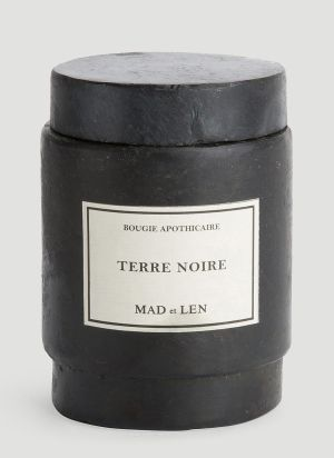 Mad & Len Small Terre Noire Candle in Black