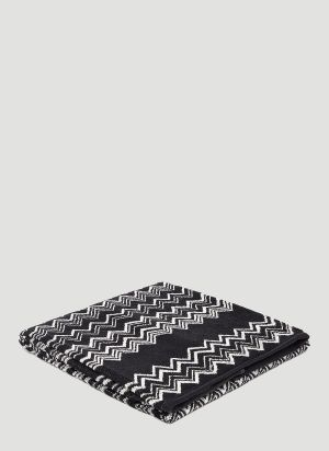 Missoni Home Keith Shower Towel in Black