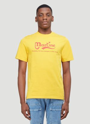 Martine Rose Probably The Best T-Shirt in Yellow