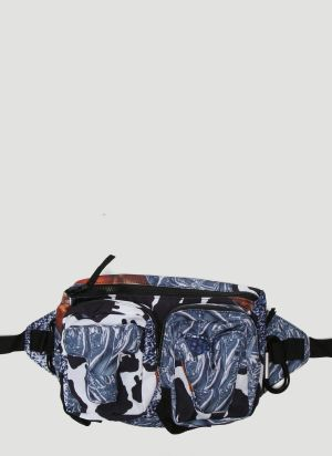 Garbage TV How Tuff Are You Belt Bag in Blue