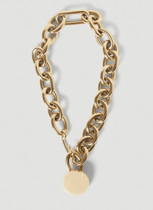 Jil Sander Chain Necklace in Gold