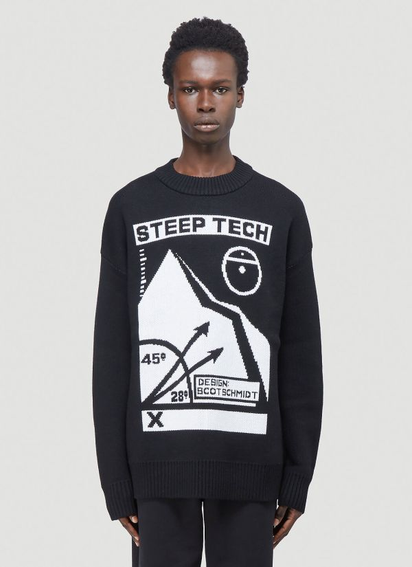 The North Face Black Series Sleep Tech Sweater in Black