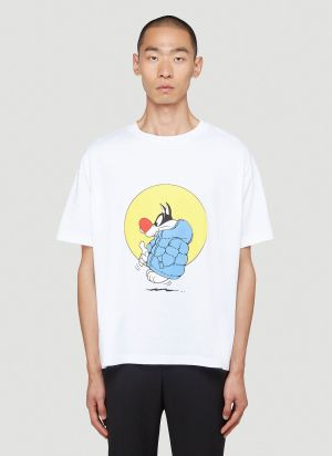 1 Moncler JW Anderson Graphic T-Shirt in White
