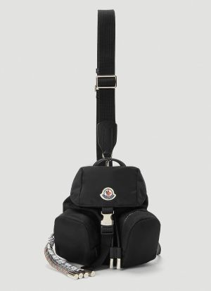 Moncler Mini Dauphine Backpack in Black