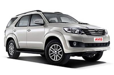 Bilexempel:Toyota Fortuner Auto