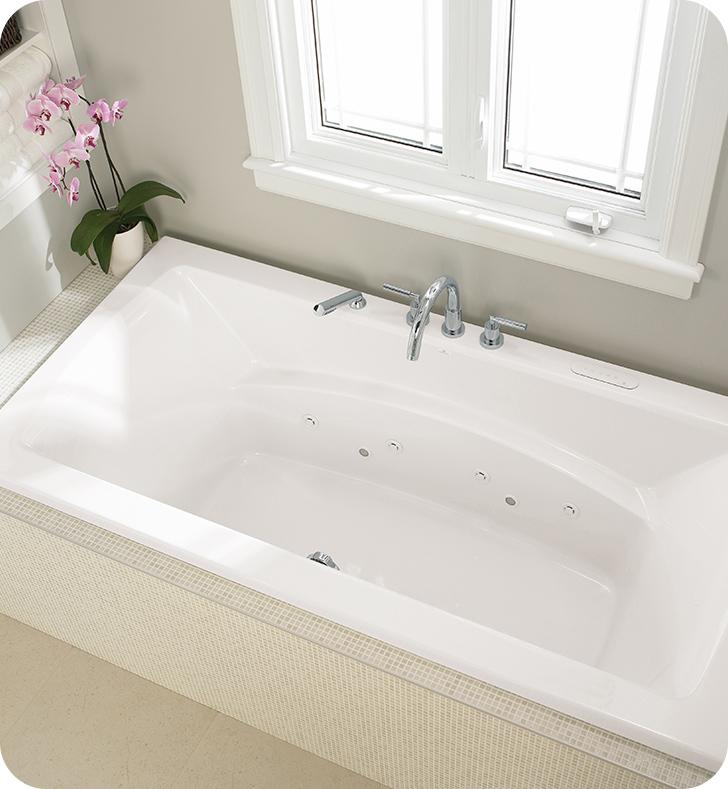 Neptune 1109440000 Believe BE4272 72 Customizable Drop In Rectangular Bathtub