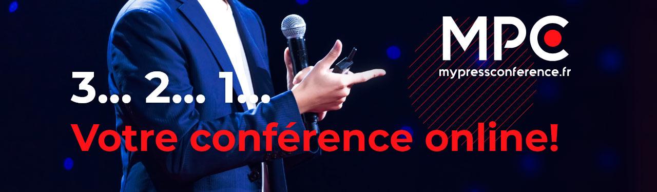 conference de presse en ligne sur Internet / My Press conference / ma conférence de presse