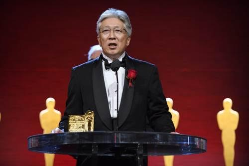 Toshihiko Ohnishi during the Academy of Motion Picture Arts and Sciences' Scientific and Technical Achievement Awards on February 11, 2017, in Beverly Hills, California. Richard Harbaugh © A.M.P.A.S.
