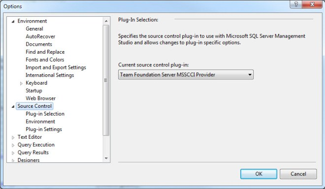 Enabling and setup of Team Foundation Server (TFS) plugin for
