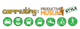 Doodle of the Month [May]: Commuting ProductiveMuslim Style
