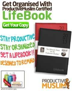 Productive Muslim Certified Diaries: Siratt Lifebooks for 2013! - Productive Muslim