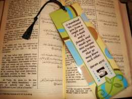 Bookmarks for a Cause - Jenna Evans - Productive Muslim