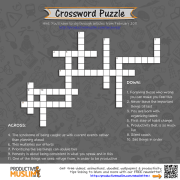[Brain Teaser] Productivity Crossword Puzzle
