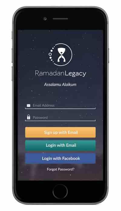 [App Review] Ramadan Legacy  ProductiveMuslim