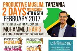 ProductiveMuslim East Africa Tour + Book Launch (February 2017)