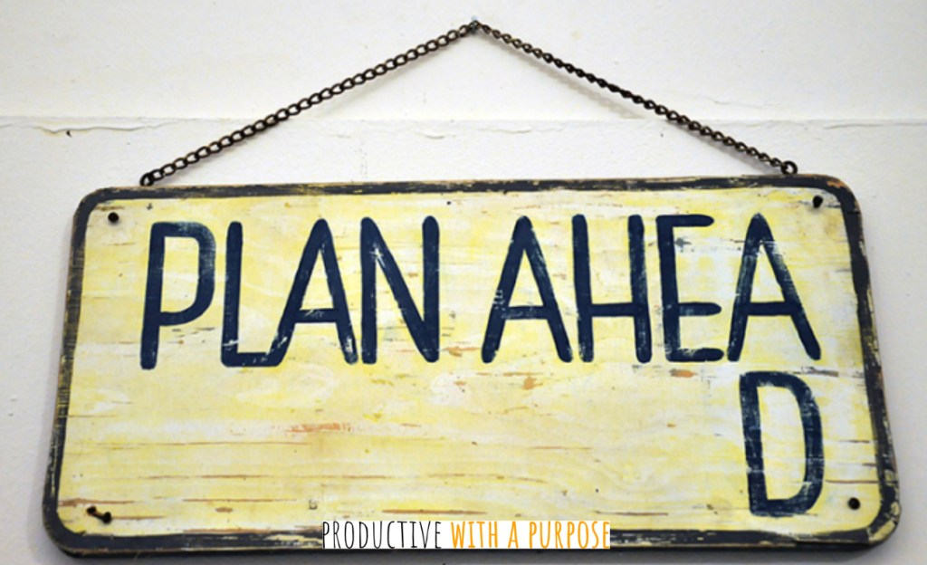 Key Productivity Tip: Plan Your Day