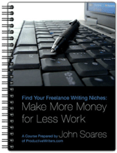 How I Chose My Freelance Writing Niches