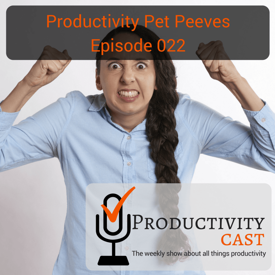 022 - Productivity Pet Peeves - ProductivityCast