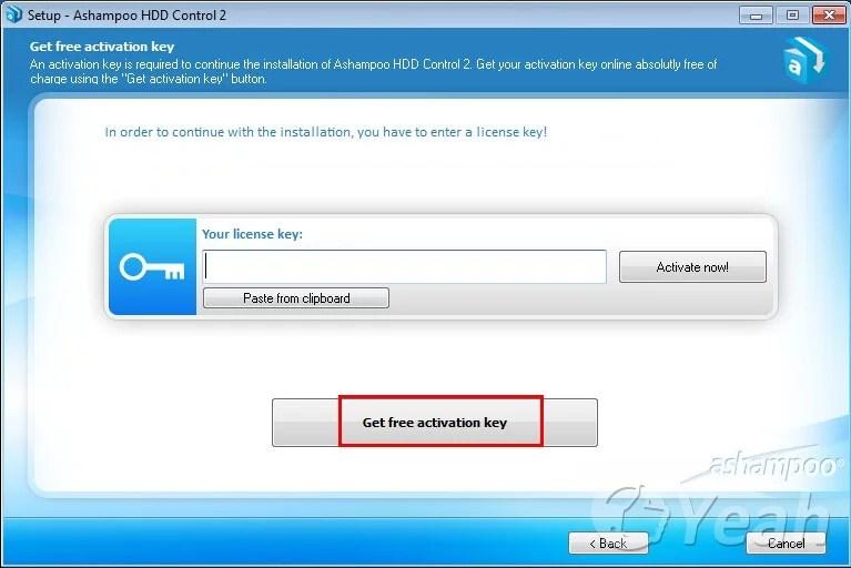 Ashampoo-HDD-Control-key