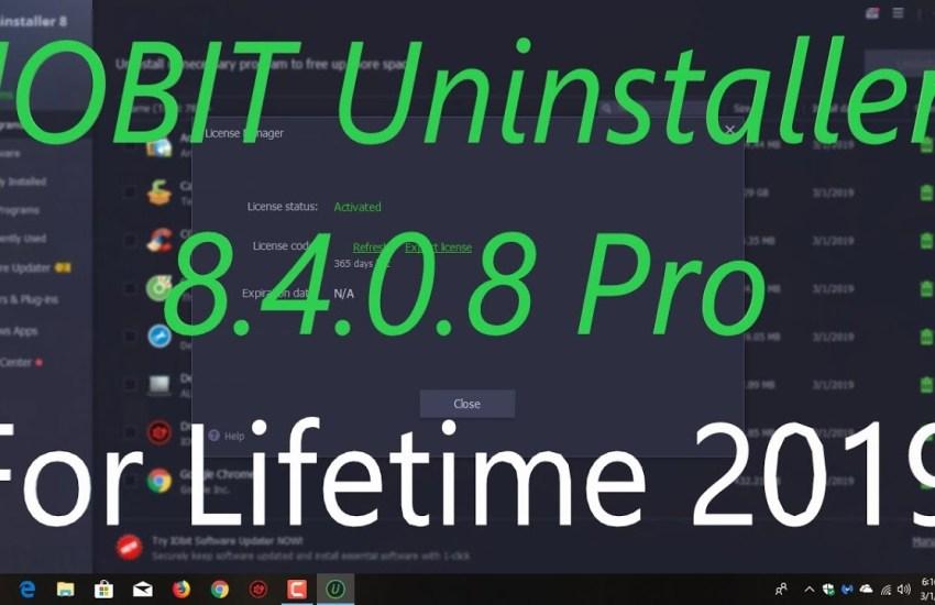 IObit Uninstaller 8.4.0.8 Crack