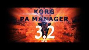 KORG PA Manager 3.2 Crack