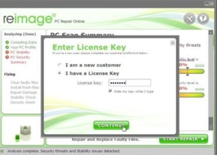 Reimage License Key 2021