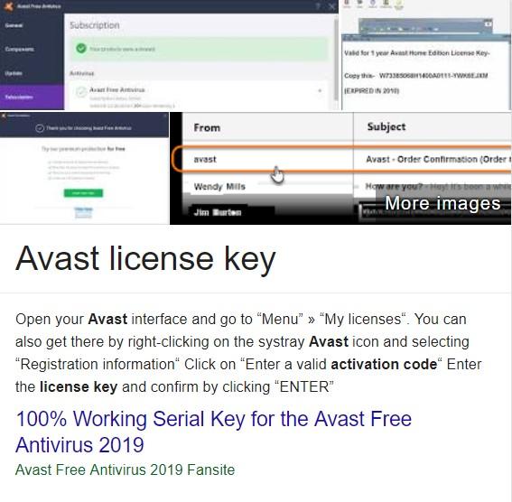 antivirus with serial key free download