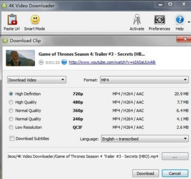 Channel 4 Downloader