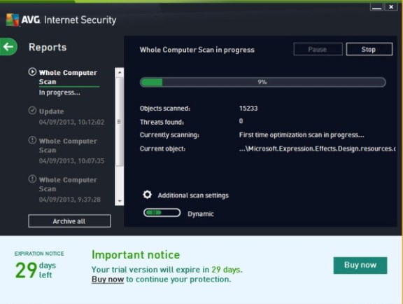 AVG internet security 2019 Serial key Free Download