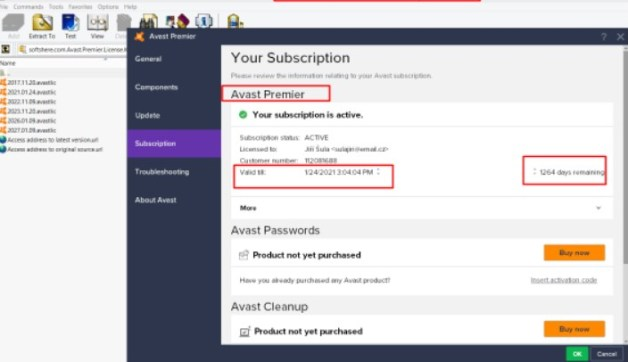 Avast Cleanup Activation Code License Key 2019