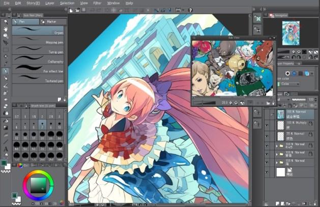 Clip Studio Paint 1.8.5 Crack Torrent Full Version {Windows + MAC}