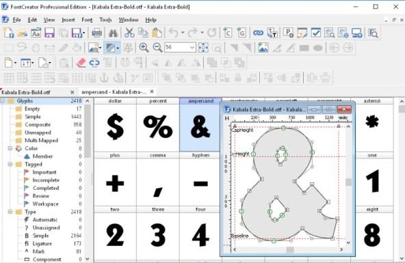 FontCreator 11.5.0 Crack Full + Keygen {Registration Code}