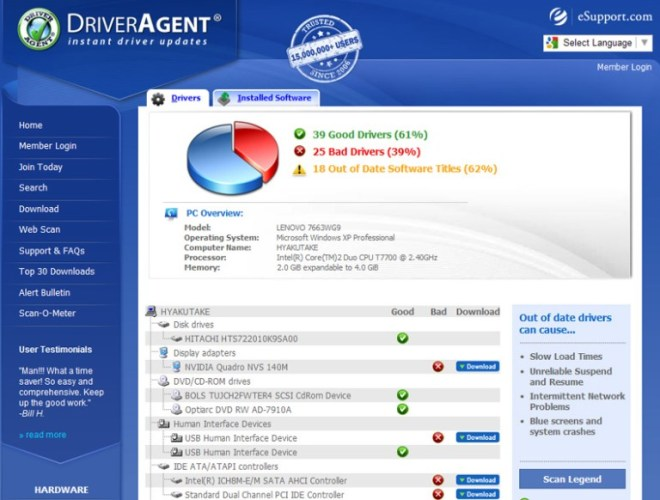 DriverAgent Plus Product Key 3.2017 Plus Crack Full Working