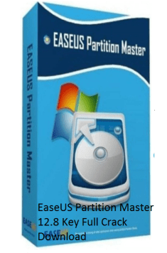 EaseUS Partition Master 12.8 Key Full Crack Free Download
