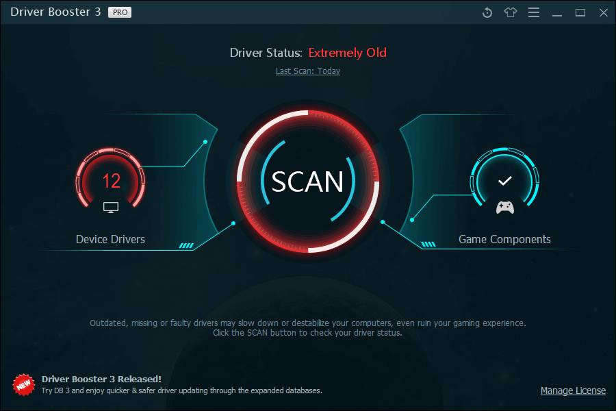 IObit Driver Booster 6.5.0.422 Crack + Key 100% Working