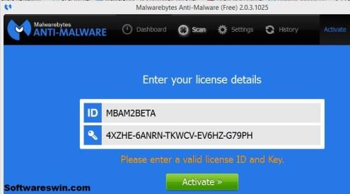malwarebytes license key 2018