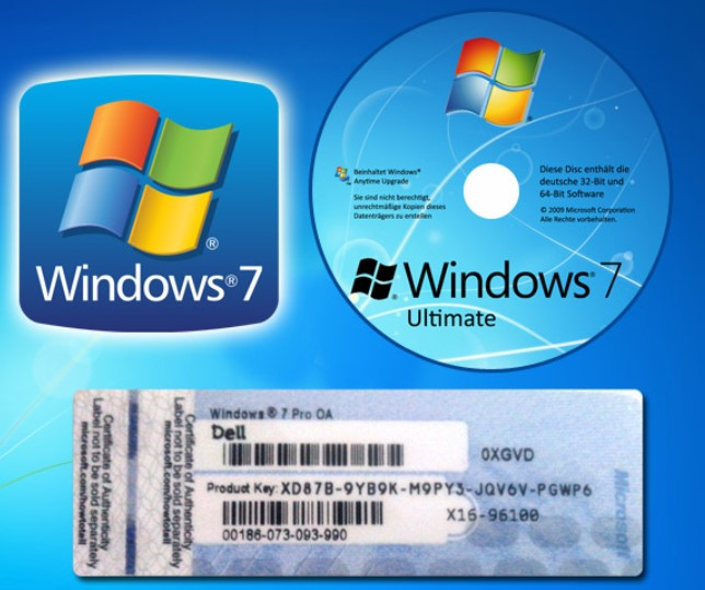 windows 7 ultimate license keys