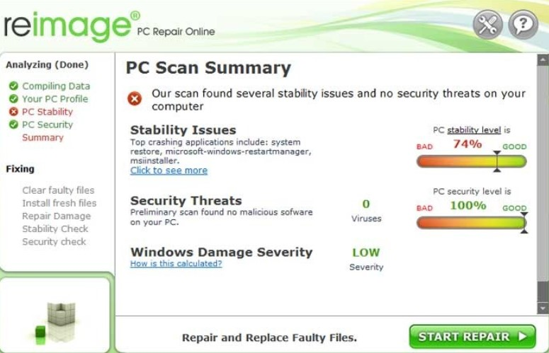 Reimage PC Repair 2020 License Key With Crack and Keygen