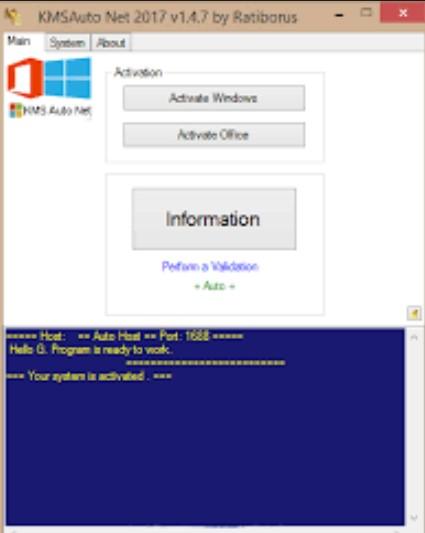 KMSAuto Net V1.5.3 Windows + Activator / KMS-Auto Activation