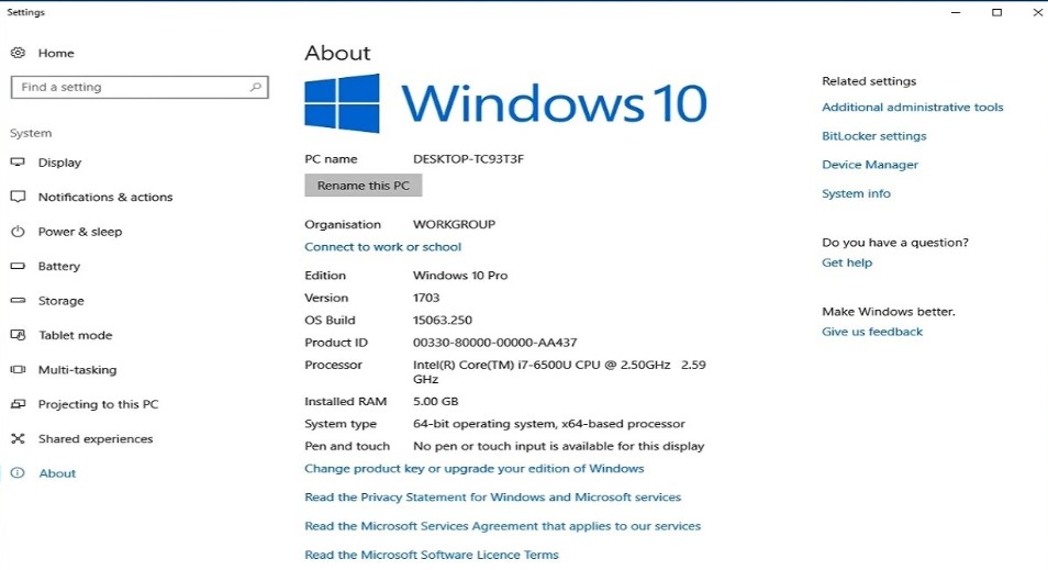 activation code for windows 10 home