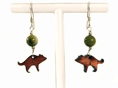 Tasmanian Devil Earrings