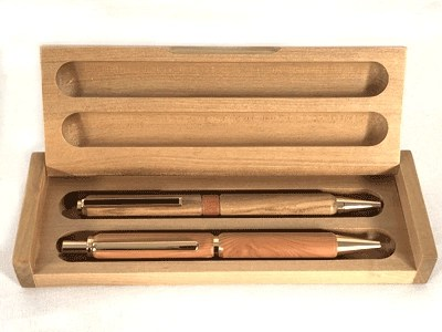 Wooden Pen Gift Box by Product of Tasmania