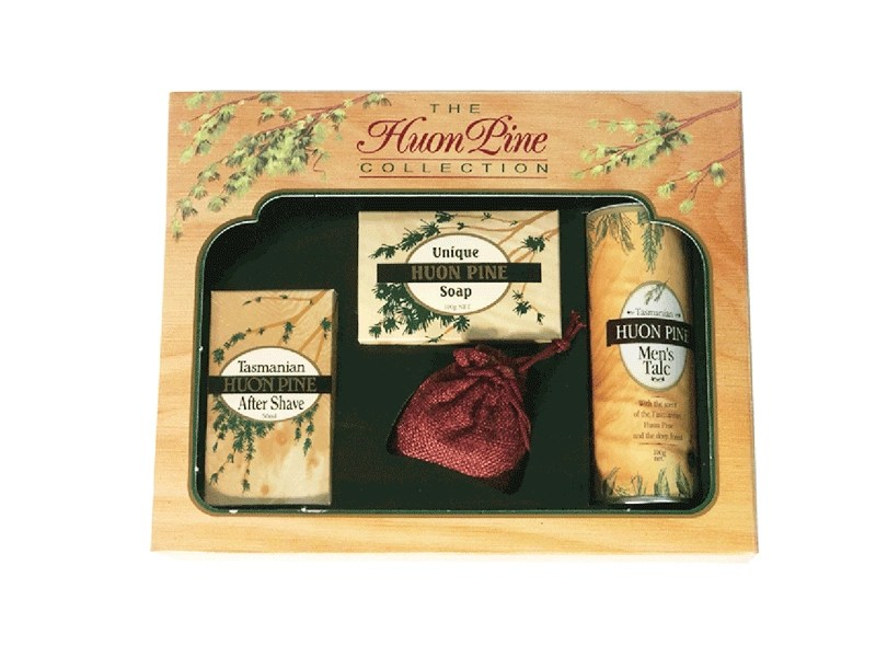 Huon Pine Collection Men's Gift Pack by Product of Tasmania