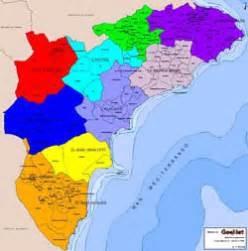Mapa de la Provincia de Alicante