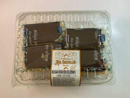 dulces sin lactosa milhojas choco