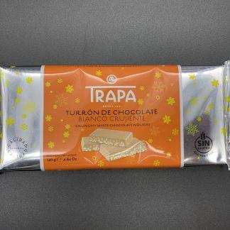 Turrón chocolate blanco crujiente