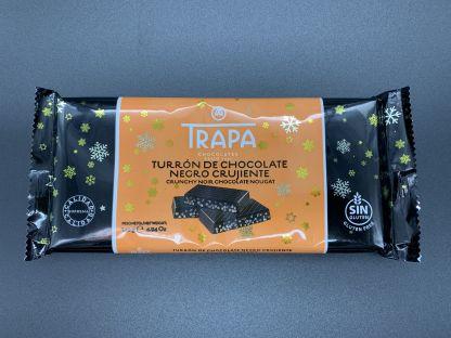 Turrón chocolate negro crujiente