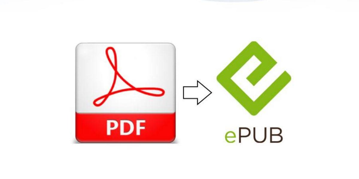 Transformo archivos de PDF a Epub 1