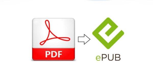 Transformo archivos de PDF a Epub 2